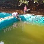 Terpaulin Untuk Kolam Ikan – Ketebalan HIGH QUALITY  – Terpal Kolam Lele / Kolam Terpal