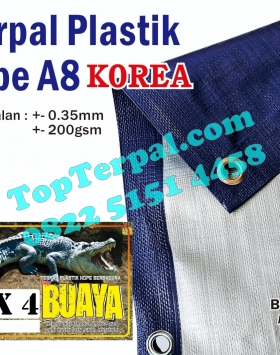 Terpal Plastik Korea A8 3 x 4