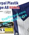 Terpal Plastik Korea A8 3 x 5