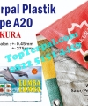 Terpal Plastik Sakura A20