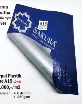 Terpal Plastik Sakura A15